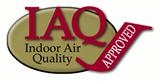 IAQ indoor air quality logo