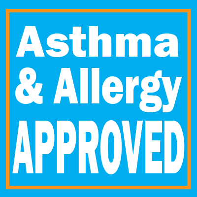 asthma and allergy approved logo