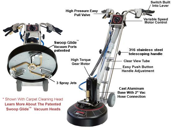 rotovac carpet cleaning machine